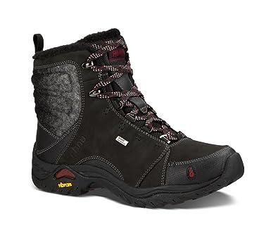 Ahnu Women's Montara Boot Luxe WP Black Boot 6.5 B ...