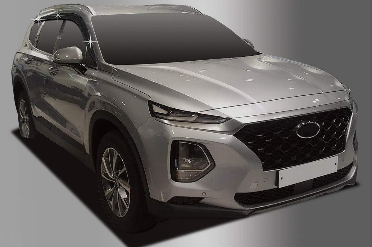 Juego de deflectores de Viento para Hyundai Santa Fe 2018+ Autoclover 6 Unidades