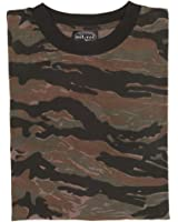 Mil-Tec - T-shirt -  Homme Multicolore Tiger Stripe