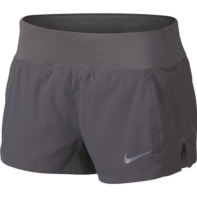 Nike Sportswear Shorts Damen Grau, Weiß