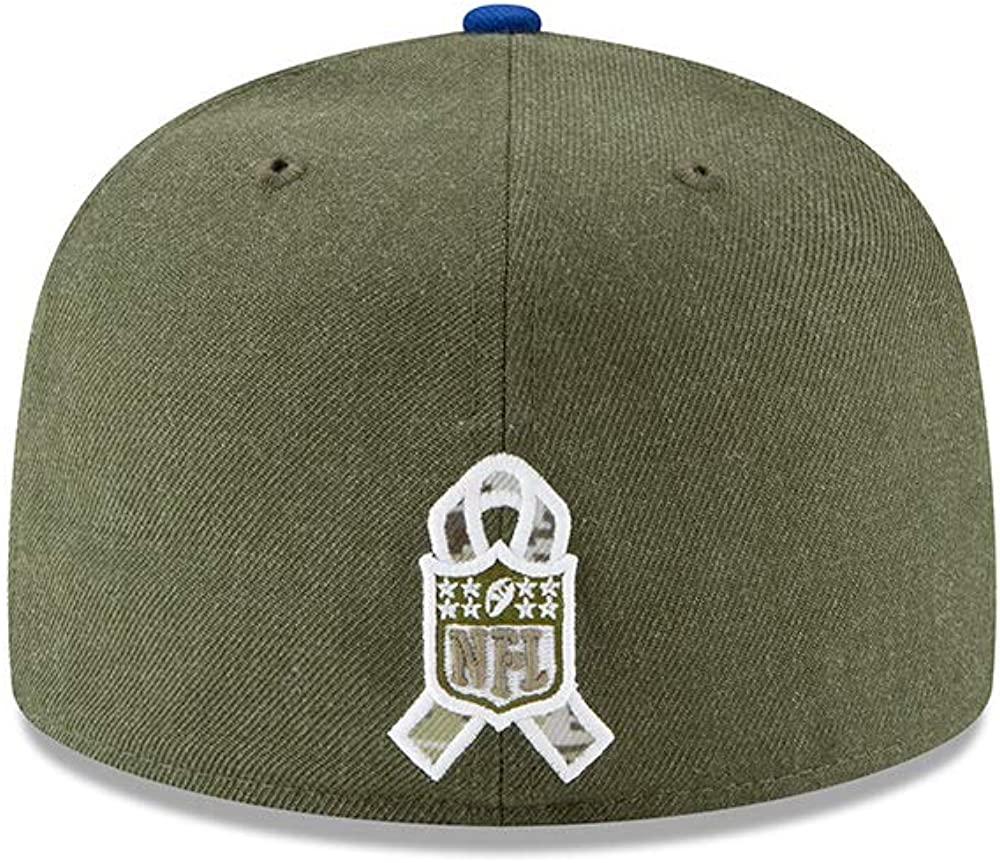 New Era New York Giants 59fifty Basecap On Field 2018 Salute to Service
