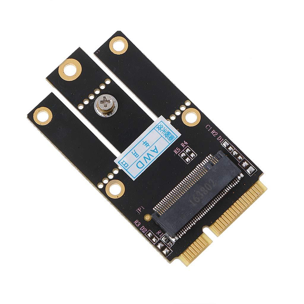 MIUSON M.2 NGFF Key A to Mini PCI-E Adapter PCI Express ...