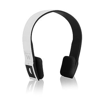 Ewent eGlamour - Auriculares Bluetooth con función manos libres, blanco: Amazon.es: Electrónica