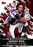 Sidney Rice Football Card (MInnesota Vikings) 2007 Topps Walmart #15 Rookie