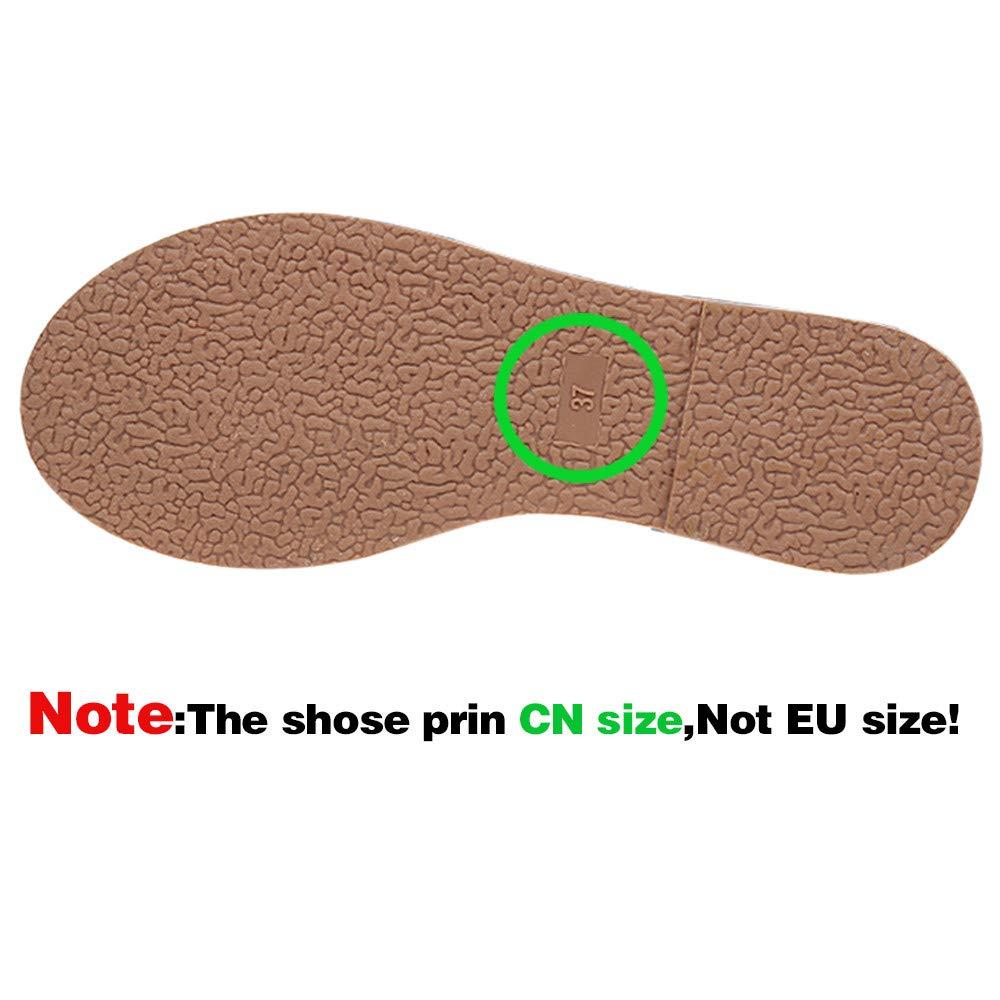 Zapatillas Deportivo de Mujer Tallas Grandes,Amlaiworld Zapatos de Plataforma de Mujer Calzado Deportivos ni/ña Oto/ño Invierno Zapatos de Cordones de Vestir 35-43