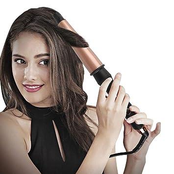 Rizador de Pelo 25 mm 32 mm 38 mm rizadores de pelo cónicos Turmalina: Amazon.es: Salud y cuidado personal