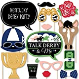 Big Dot of Happiness Kentucky Derby - Horse Race Party Photo Booth Props Kit - 20 Count