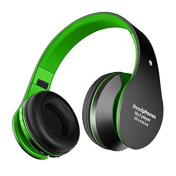 Alitoo Auriculares Bluetooth de Diadema Inalámbricos,Wireless Headphones Cascos Bluetooth Plegable con Micrófono Manos Libres y Hi-Fi Sonido Estéreo 12 ...