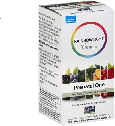 Rainbow Light, Multivitamin Prenatal One, 120 Count