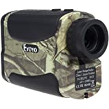 Eyoyo 1000ヤード 6倍率 レンジファインダー 携帯型 距離計 距離 速度測定 ピンシーク機能 ゴルフ 狩猟 迷彩