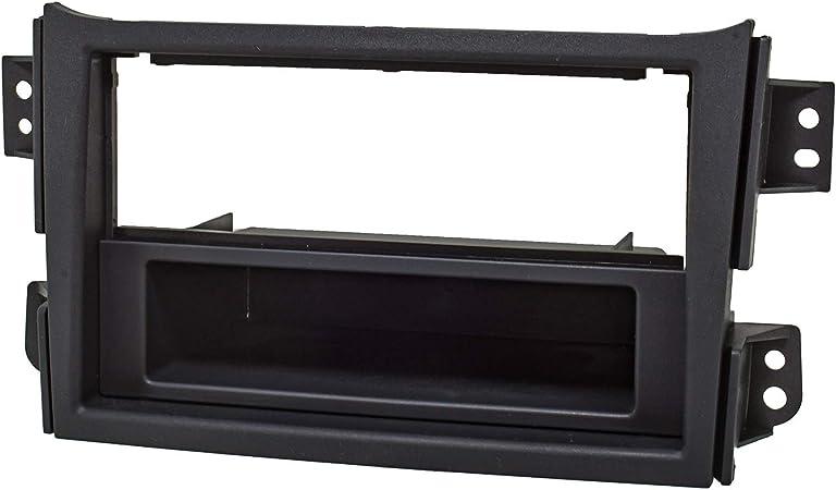 Tomzz Audio 2439 104 Radioblende Set Kompatibel Mit Opel Agila B Suzuki Splash Schwarz Mit Radioadapter