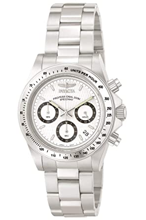 2437e7ee8 Invicta Men's 9211 Speedway Collection Stainless Steel Chronograph Watch  with Link Bracelet