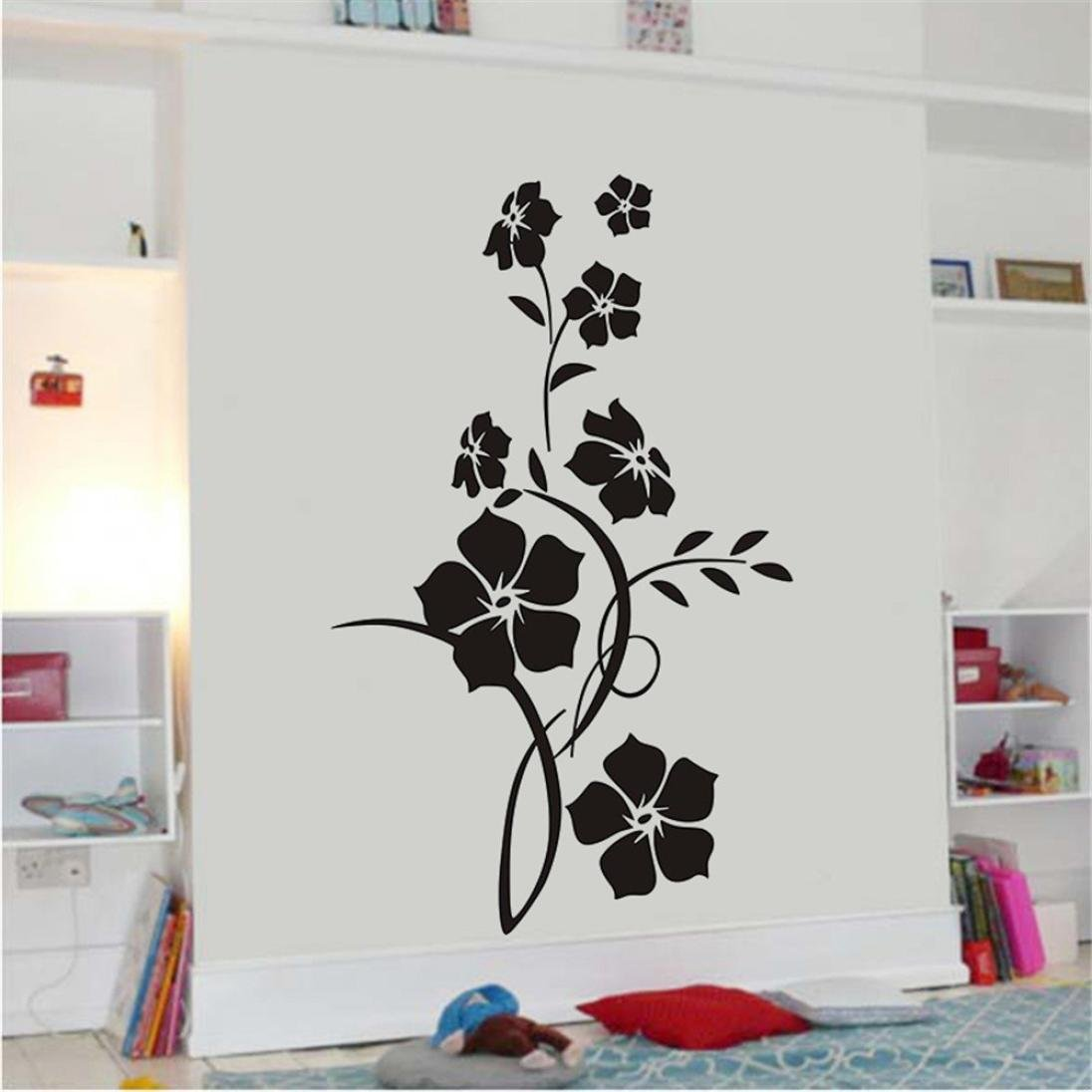 Amazoncom Staron Wall Decals Flower Family Wall Sticker