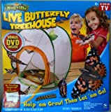 Insect Lore Live Butterfly Treehouse kit with DVD mini movie and mail-in voucher. (similar to Insect Lore Live Butterfly Garden)