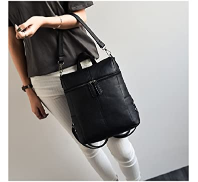 8f4a299b715c Amazon.com  New Model 2018 Mini Backpack For Women Backpack for Teenagers  PU Leather Bag Spring