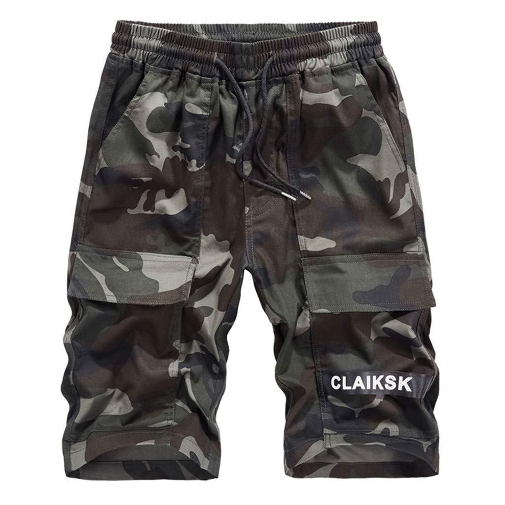 Alalaso Jogger Shorts Men Linen Shorts for Men Cotton Shorts Men Long Shorts for Men Denim Shorts for Men