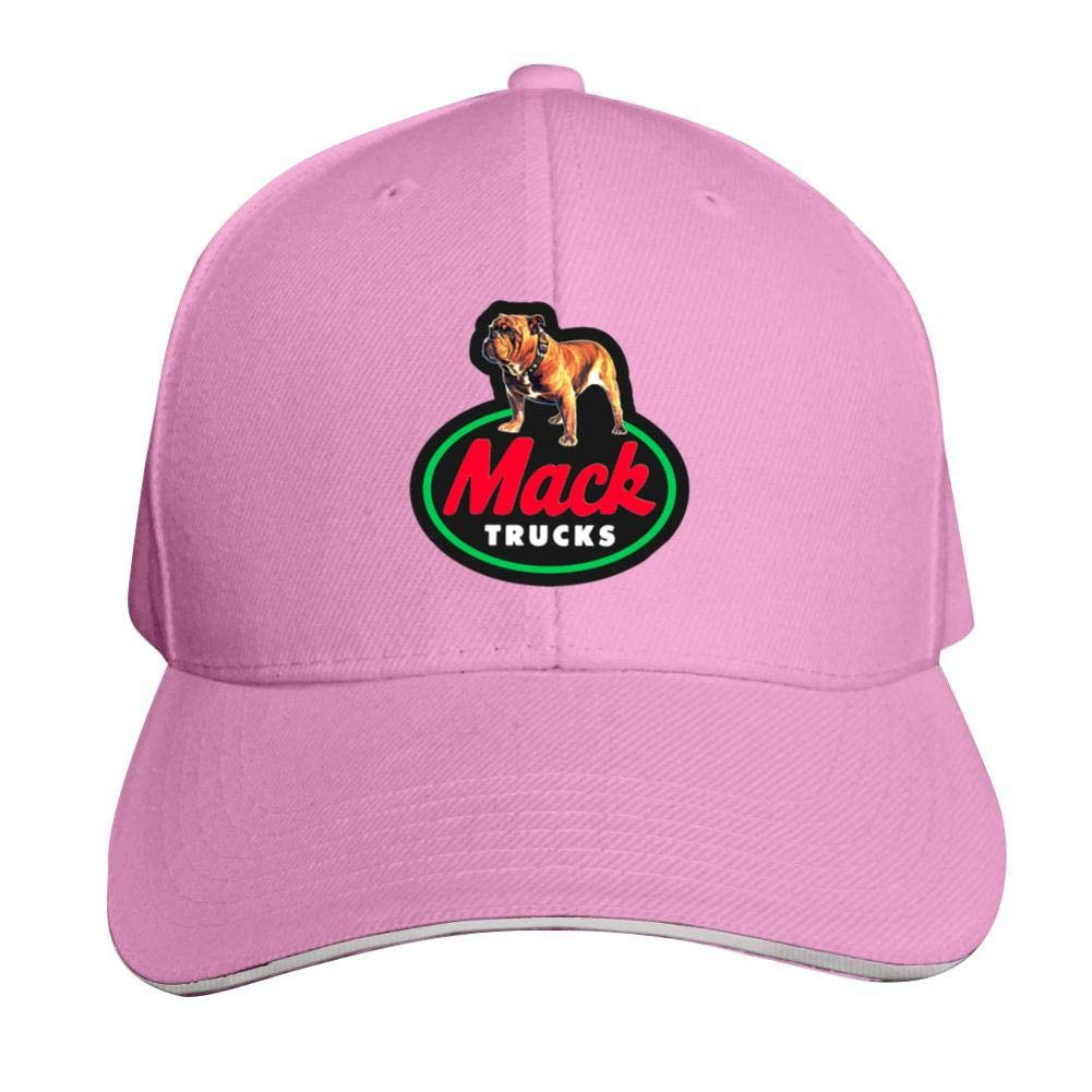 Sokizhoy Baseball Cap M-ack Trucks Car Logo Dad Hat Trucker Cap Cool for Boys Girls Pink