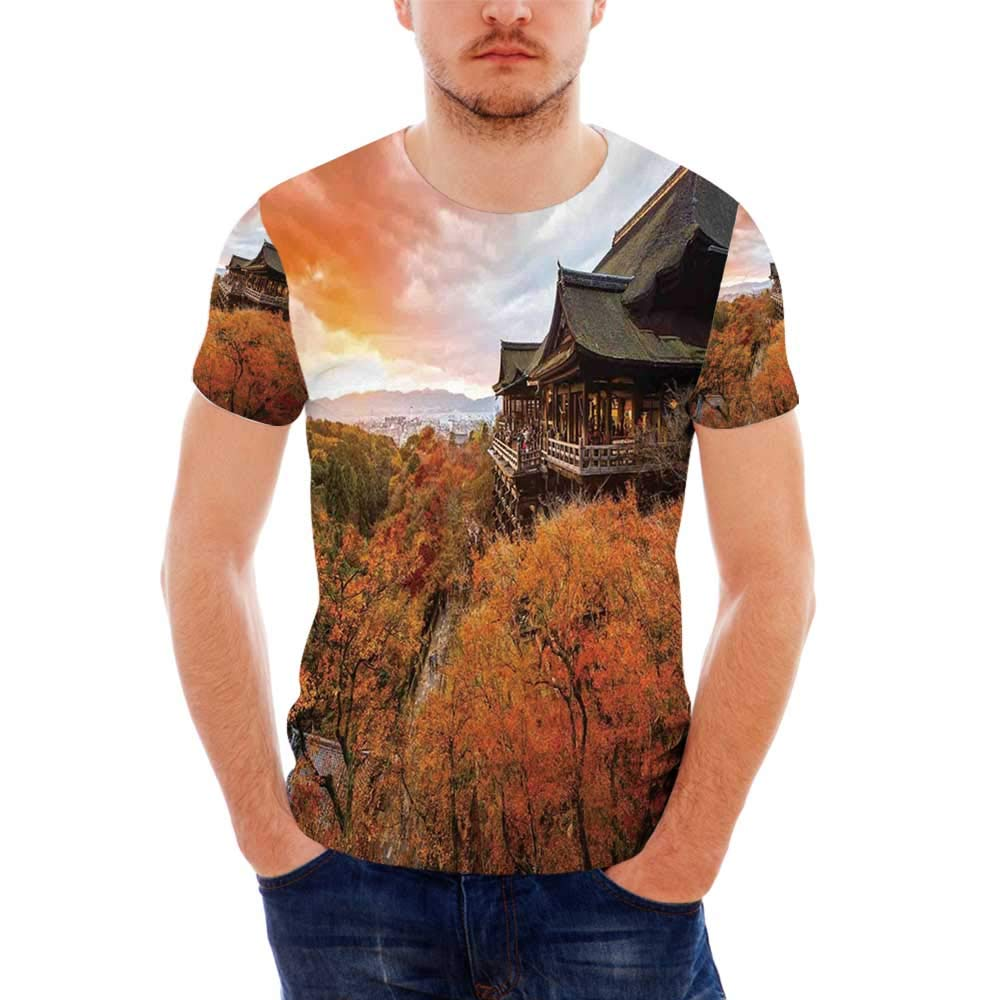 Feather Fashionable T Shirt,for Men,S