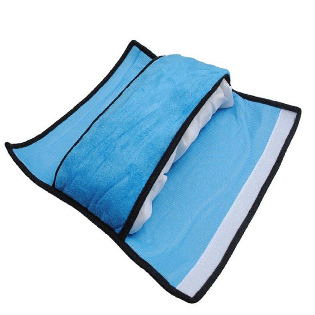 accessorio auto per bambino//cuscinetto di protezione per collo e spalla Imbottitura per cintura di sicurezza Sannysis/® colore: azzurro