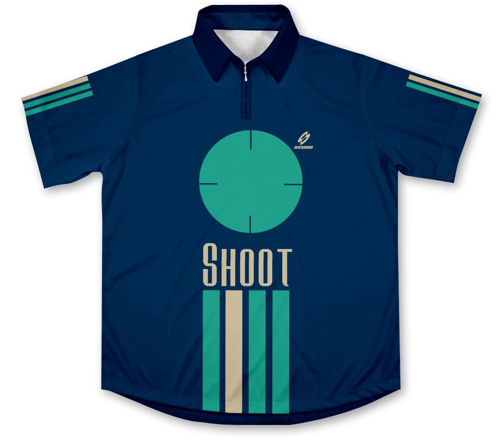 Shoot Hemd für Schluss oder Jagd a Segno o Caccia