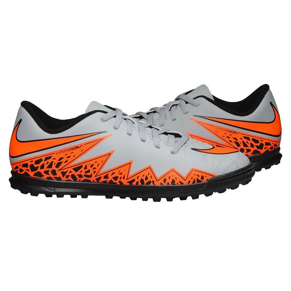 Nike JR Hypervenom Phade II TF Kinder Fussballschuhe wolf grey-total orange-black-black - 36,5: Amazon.es: Deportes y aire libre