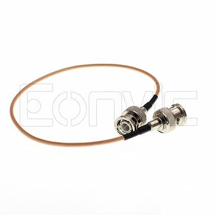 Eonvic BNC Male to BNC RG316 HD SDI Video Coaxial 50 ohm Coax Low Loss RF