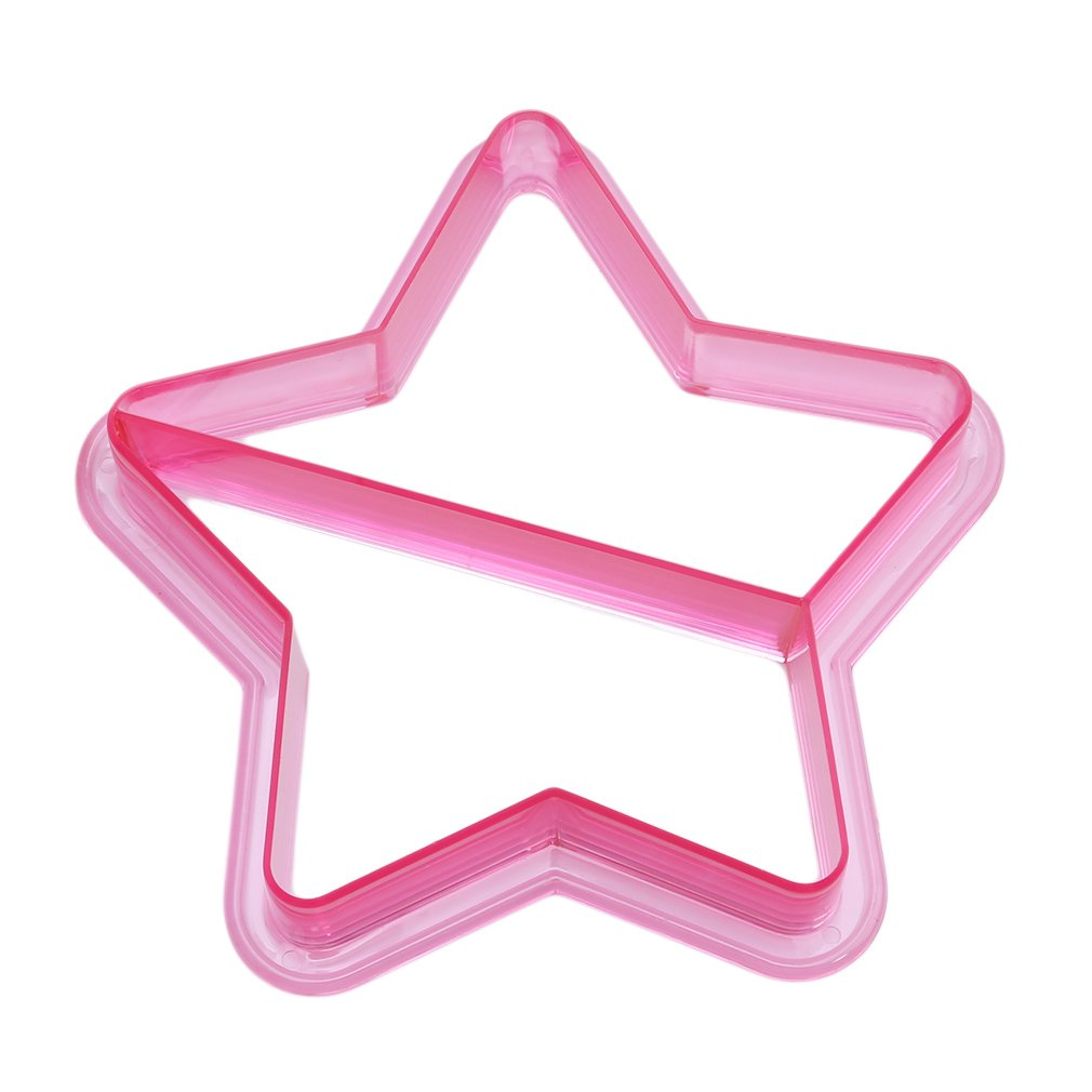 HENGSONG Kids Sandwich Cutter Sandwich and Bread Crust Cutters Vegetable, Fruit Cutter Accessories for Kid (Star)