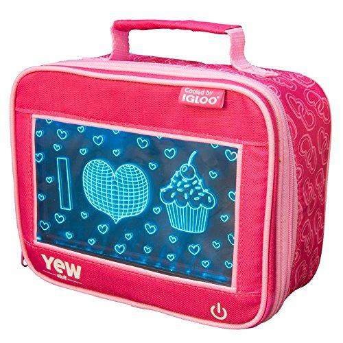 (Igloo 81012 I Heart Cupcakes, 9.5 x 4.75 x 7.5)