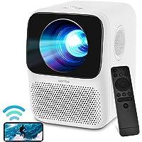 WANBO T2 MAX Mini-beamer, Full HD WLAN Bluetooth, 720P Full HD home cinema beamer, lektronische correctie, dubbele…
