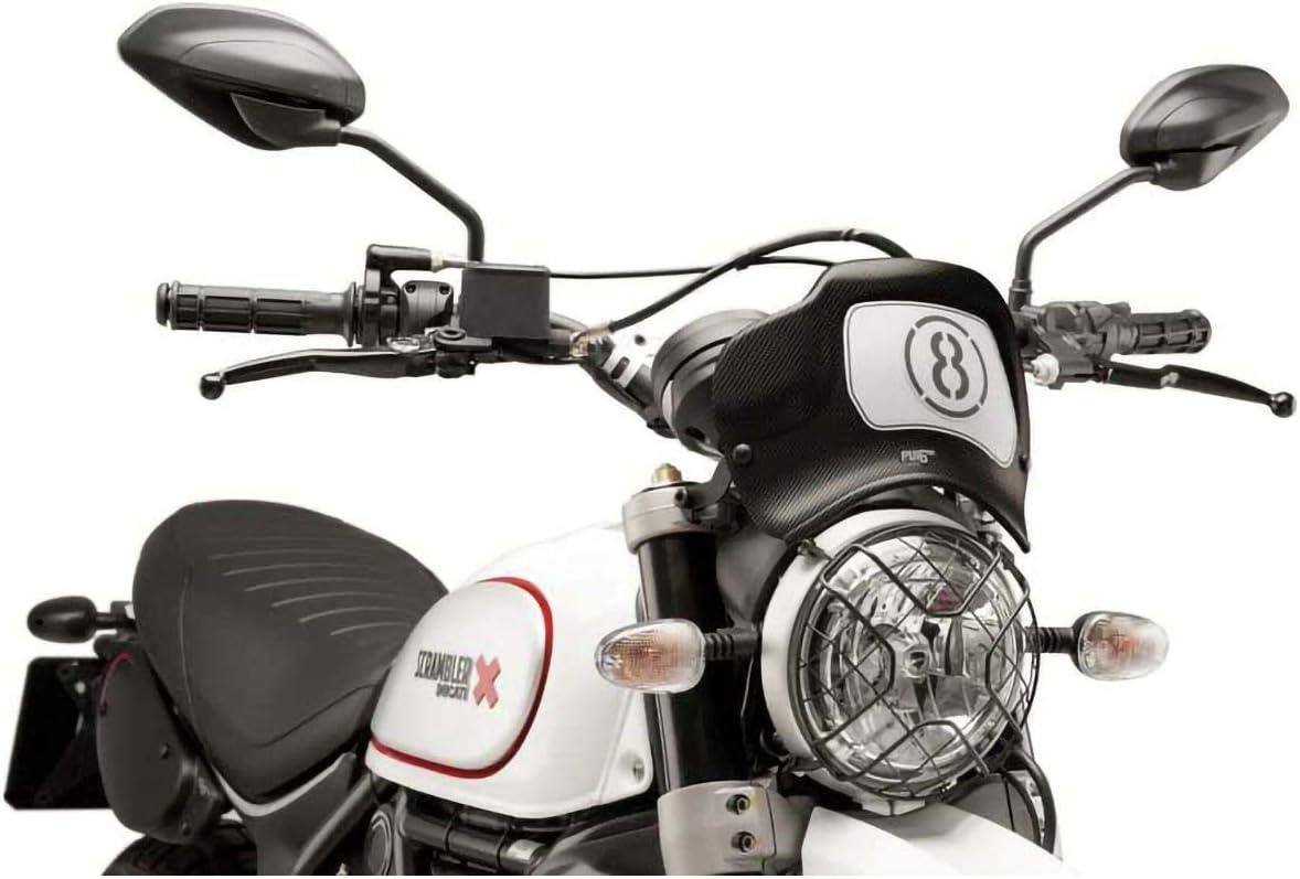 Puig Placa Frontal 9522C Desert Sled 17 Ducati Scrambler 1100 18-19