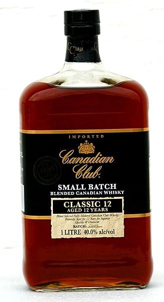 Canadian Club 12 Jahre - 1 Liter Flasche