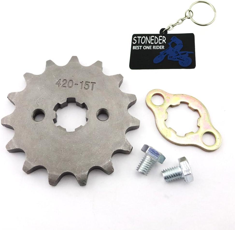 /16T 17/mm per moto ATV dirtbike Woostar pignone anteriore 420/