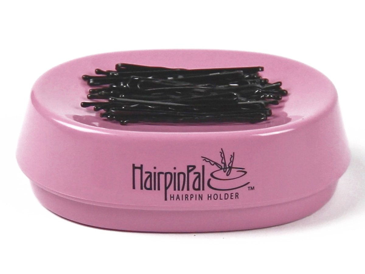 Bobby Pin and Hair Clip Magnetic Holder: HairpinPal (Raspberry Mauve)