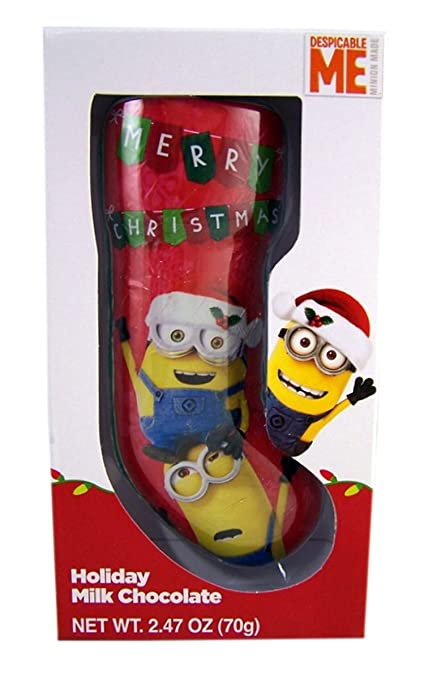 Minions Christmas.Amazon Com Despicable Me Minions Christmas Hollow Milk