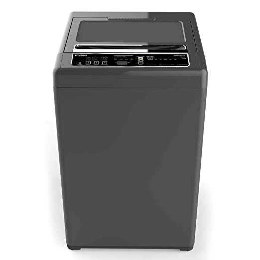 Whirlpool 6.2 kg Fully-Automatic Top Loading Washing Machine (WM ROYAL 6.2 2YMW, Shiny Grey) Washing Machines & Dryers at amazon