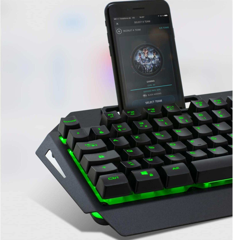 Souris RGB 3200 dpi Pack Gamer MK30 Clavier Semi-m/écanique RGB