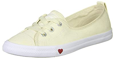 6099ed16eb3 Converse Chuck Taylor All Star Ballet Lace Natural Ivory Textile ...