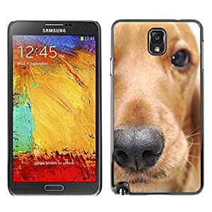 VORTEX ACCESSORY Hard Protective Case Skin Cover - golden retriever dog animal pet - Samsung Galaxy Note 3 N9000 N9002 N9005