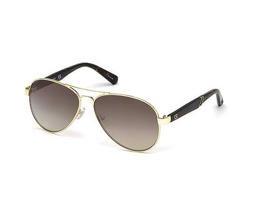 5bb9342e9d Amazon.com  GUESS Men s Gu6930 Aviator Sunglasses
