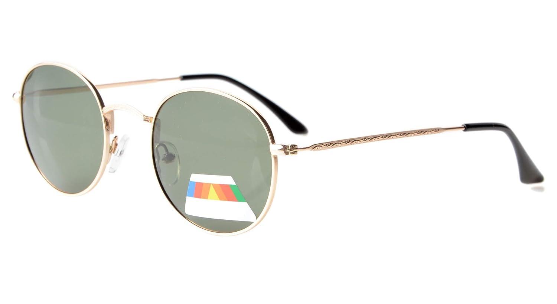 Eyekepper Gafas de Sol Polarizadas Redondas