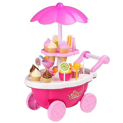 Amazon.com: Sunnymore - Carro de hielo en miniatura para ...
