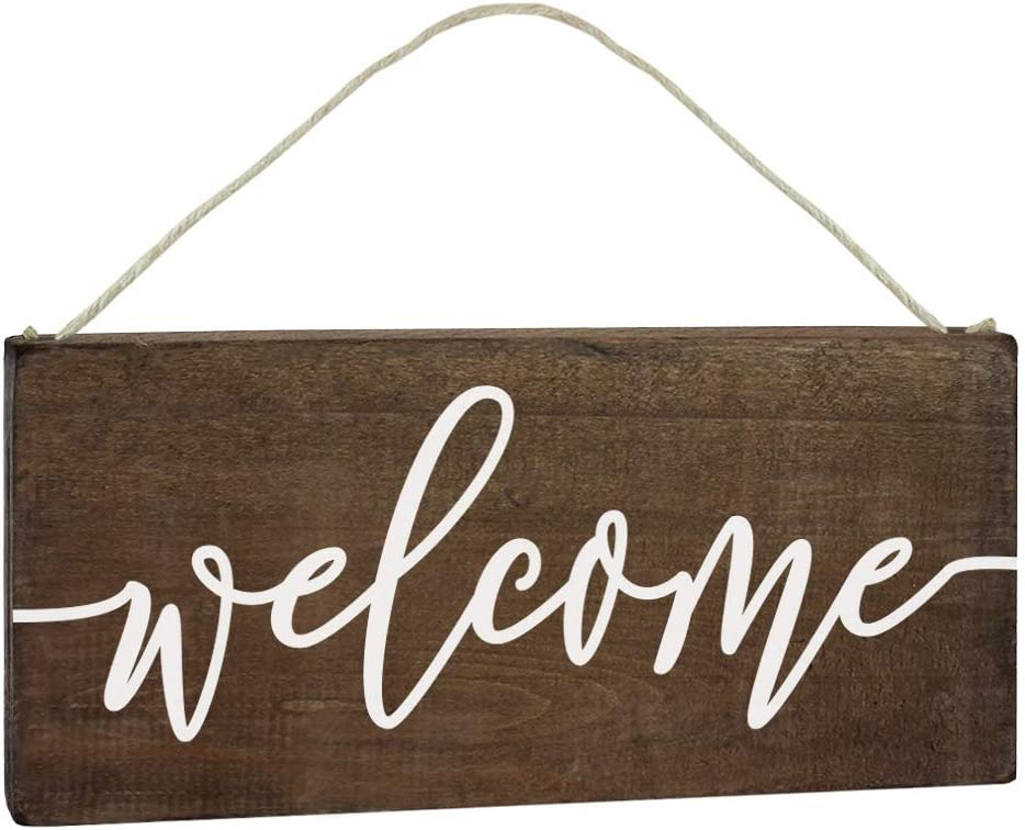 N// A Welcome Sign Front Porch Sign Front Door Sign Entryway Sign Vertical Wood Sign Vertical Porch Sign Horizontal Sign Fall Decor