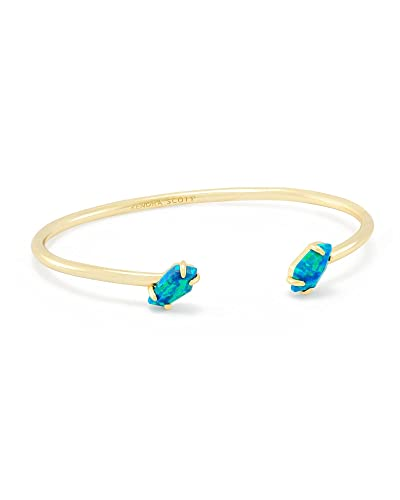 1fc63912e Amazon.com: Kendra Scott Jackson Pinch Bracelet In Marine Kyocera Opal:  Jewelry