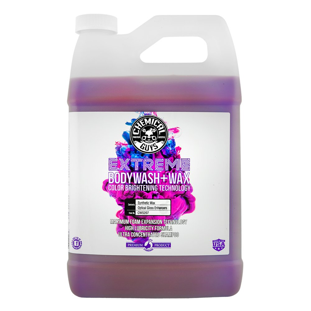 Chemical Guys CWS207 Extreme Body Wash & Wax (1 Gal), 128. Fluid_Ounces