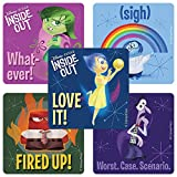 Disney Pixar Inside Out Movie stickers - Birthday Party Supplies & Favors - 100 Per Pack