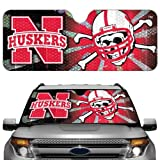 NCAA Nebraska Cornhuskers Auto Sun Shade Color: Nebraska Cornhuskers, Model: ASU042, Car & Vehicle Accessories / Parts