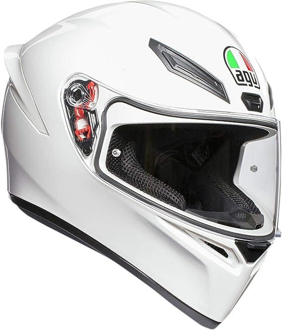 AGV Unisex-Adult Full Face K-1 Motorcycle Helmet (White