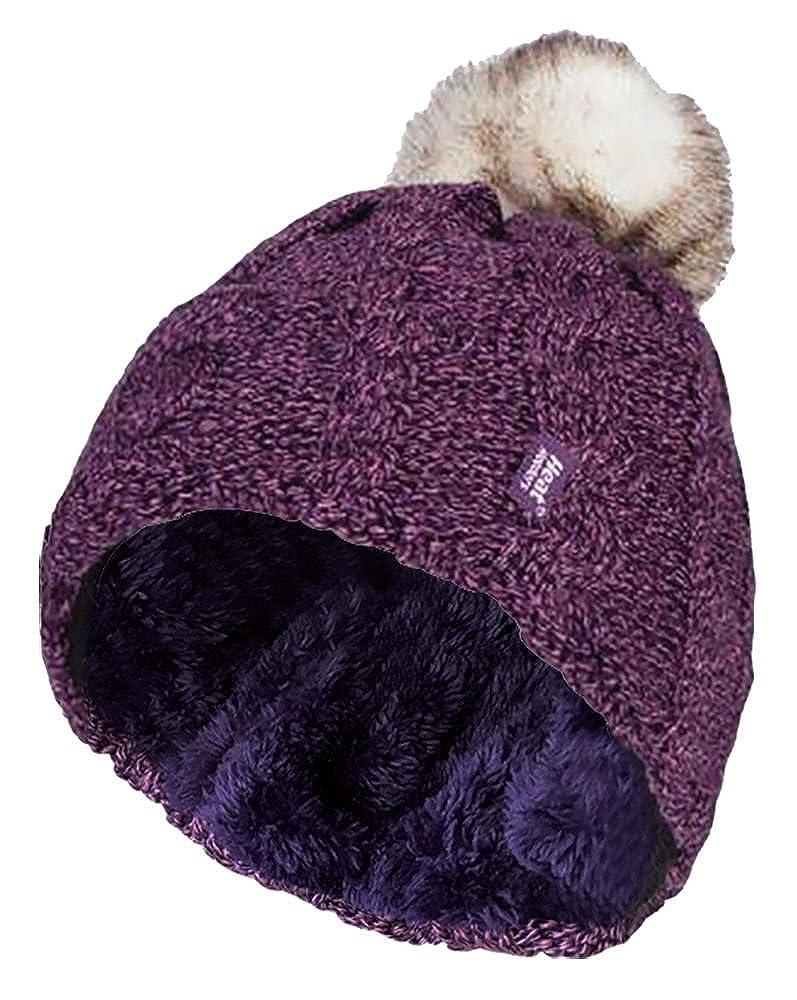 """1e48fe724026 HEAT HOLDERS - Ensemble bonnet, écharpe et gants - Femme pour Noël. """""""