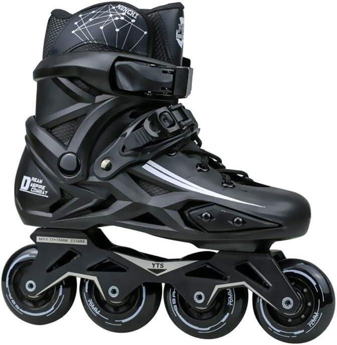 XDSAインラインスケート インラインスケート、大人用の1列スケート、プロの男性と女性、子供初心者のためのフルセットブラック(カラー:B、サイズ):( 42 EU / 9 US / 8 UK / 26 Cm JP) (Color : C, Size : 35 EU/4 US/3 UK/22.5cm JP)