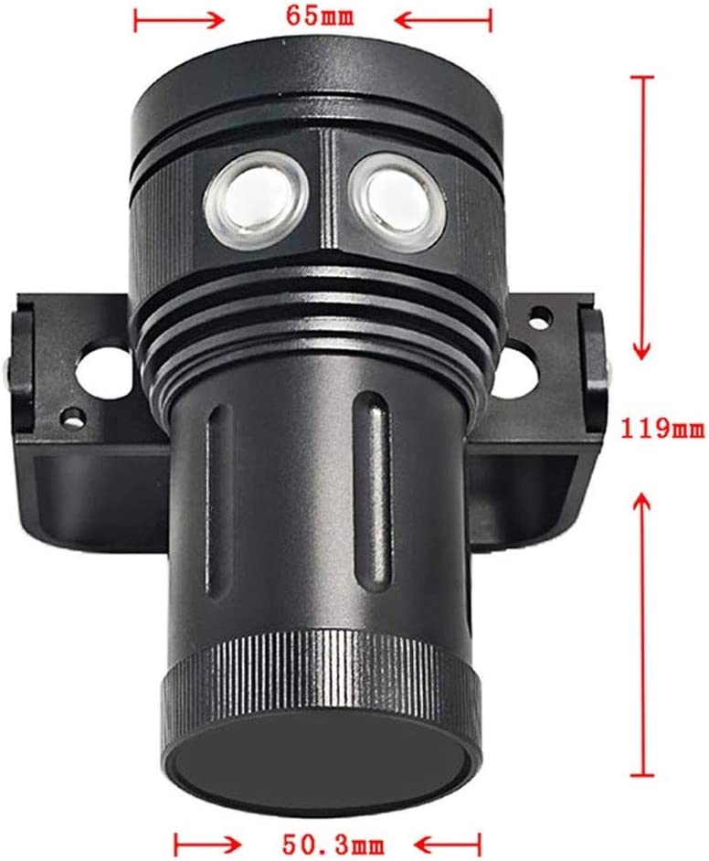 Scuba Diving Underwater 100M Xm L2 Led Video Camera Photography Light Torch Flashlight A15 Pool /& Accessories /& Sports /& Entertainment for Surfing /& Diving
